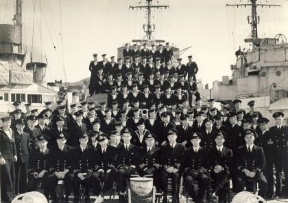 1.  HMCS Saguenay Shuip's Company Photo 1942